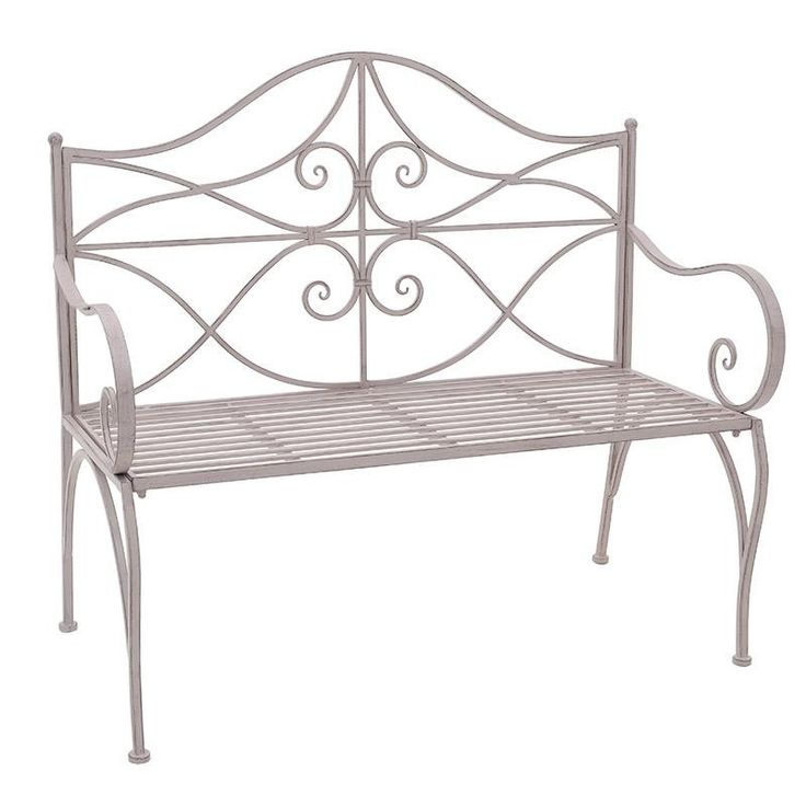 Metal Bench - Chairs - FURNITURE - inart