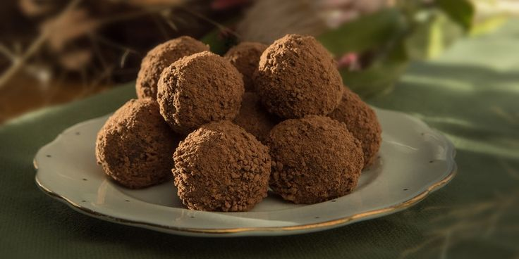 One of these date and almond bliss balls by Maggie Beer provides three times more protein than a milk arrowroot biscuit!