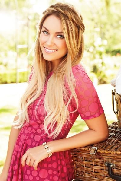 awesome ombre hair brown to blonde tumblr Hair Inspiration Lauren Conrads Blonde