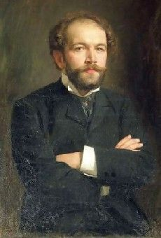 Nikolay Medtner [Николай Карловичъ Метнеръ] (1880-1951), painting (1906), by…