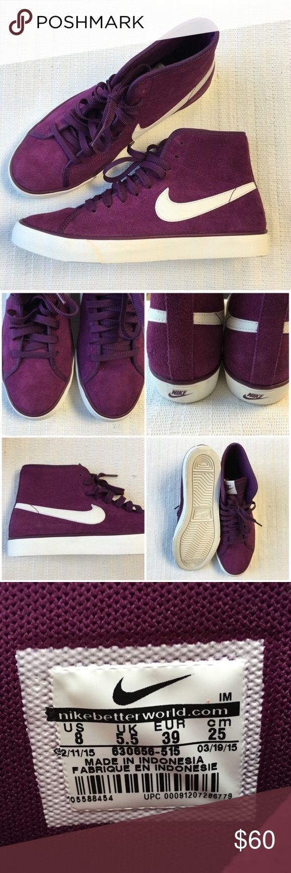 Women's NIKE Primo Court Suede Mid-Top Sneakers Women's NIKE Primo Court Suede Mid-Top Sneakers Style/Color: 630656-515  • Women's size 8  • NEW in box (no lid) • No trades • 100% authentic Nike Shoes Sneakers