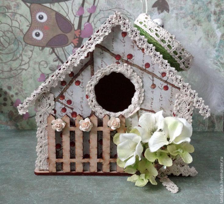 Купить декоративный скворечник - разноцветный, декоративный, декоративный скворечник, скворечник, подарок, подарок на любой случай