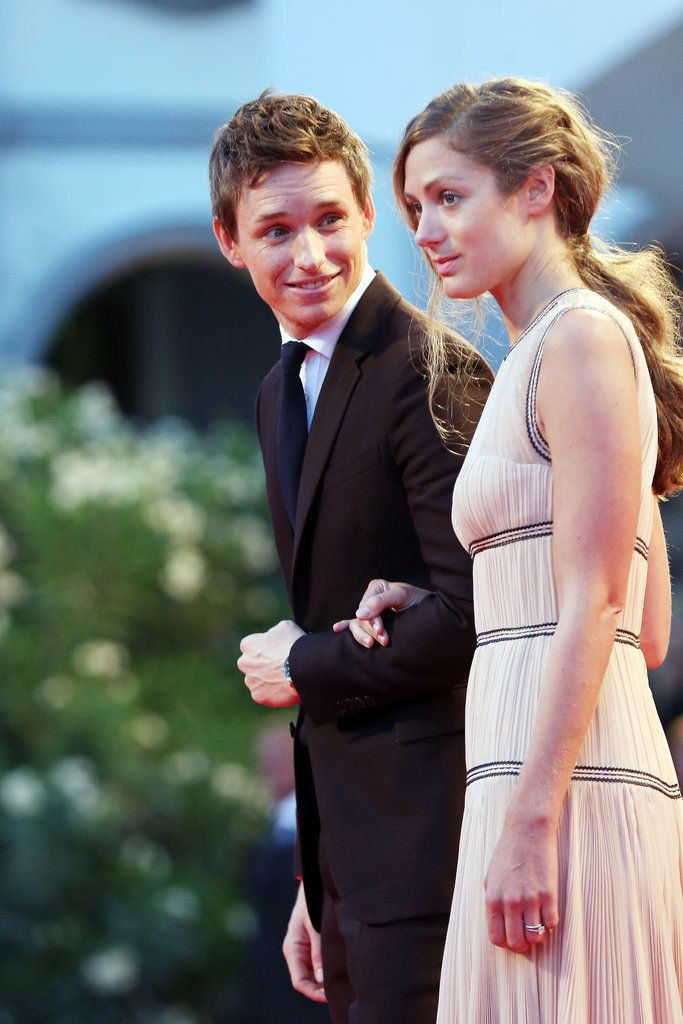 Eddie Redmayne and Hannah Bagshawe shared loving looks and stolen kisses at the Venice Film Festival.