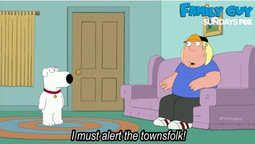 You can always trust Chris to... get important news wrong. #familyguy