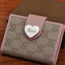 14 best replica gucci wallets images on pinterest wallet wallets gucci gg canvas heart hasp card holder pink 6900 http colourmoves