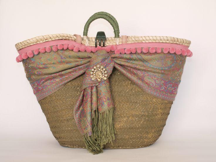 Las 25 mejores ideas sobre cesta de cuerda en pinterest - Cestos de palma ...