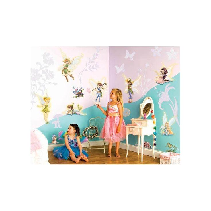 Disney Fairies - Kit décoration chambre - 37 pièces - Déco de Rêve