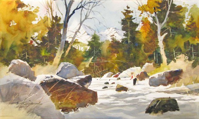 Georgia watercolor artists tony couch american pinterest for Watercolor art prints for sale