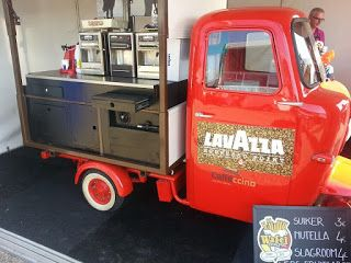 Italian Food Trucks - Mobiele Catering Concepten met een Italiaans Thema: Caffeccino