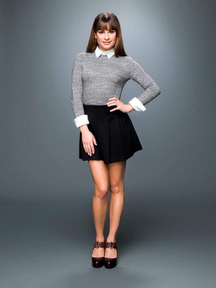 Lea Michele as Rachel Berry in Glee Season 6
