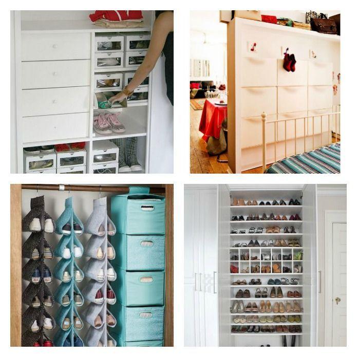 20 formas de ordenar los zapatos Konmari, My Room, Ideas Para, Beautiful Homes, Locker Storage, The Originals, Diy, Furniture, Home Decor