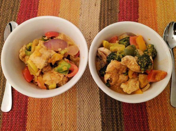 Healthy Dinner! #cenasaludable #healthydinneridea #veggies #veggielover