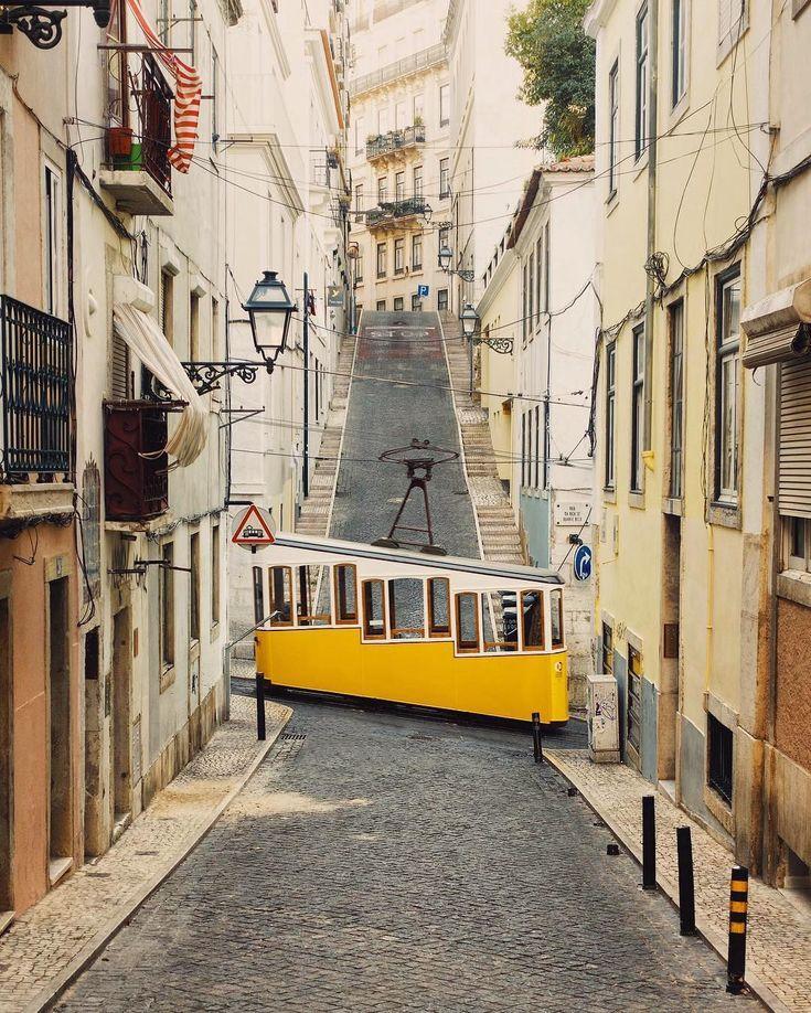 "20.3k Likes, 140 Comments - @accidentallywesanderson on Instagram: ""#AccidentalWesAnderson Tramway Car | Lisbon, Portugal | c. 1873 • • The Lisbon tramway network…"""