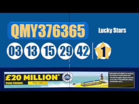 Euromillions Results 15th November