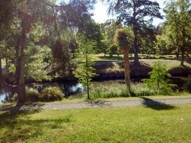 South Hagley Park w Christchurch, Canterbury