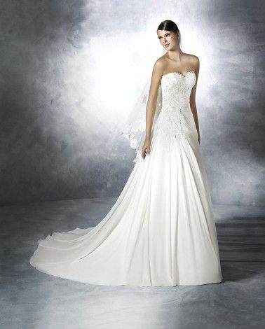 White One Wedding Dresses - Style Jay