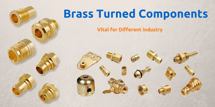 Dodhia brass offers different types of #brass #turned #components for industrial uses