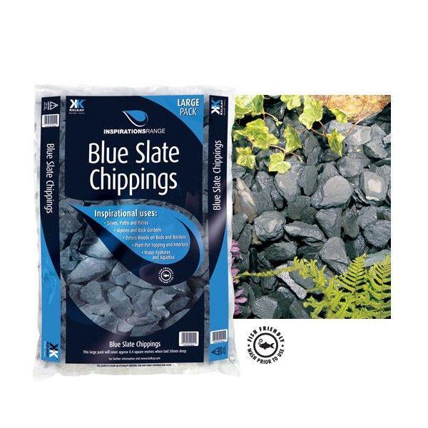 Best 25 Blue Slate Chippings Ideas On Pinterest Garden