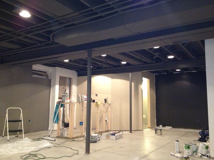 finished basement ceiling. Basement Remodel Floor Plan with Exposed Ductwork Best 25  basement ceiling ideas on Pinterest