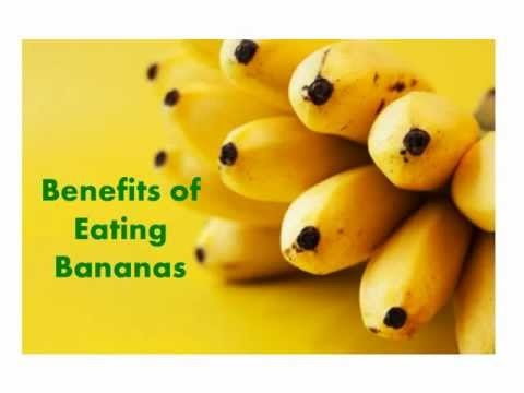 Bananas! Benefits of eating this sunny fruit.. on a video now.