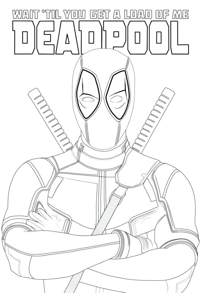 lego deadpool coloring pages cartoon printable marvel tone