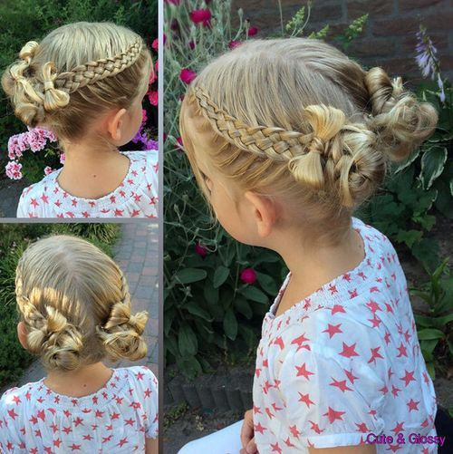 Childrens Hairstyles For School In : 584 best gorgeous hair images on pinterest