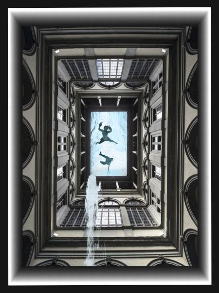 Living Water from, Palazzo Strozzi 2012  Leonardo Maniscalchi  Artist Photographer   Limited Edition Vintage