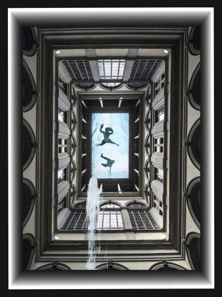 Living Water from, Palazzo Strozzi 2012  Leonardo Maniscalchi  Artist Photographer   Limited Edition Vintage