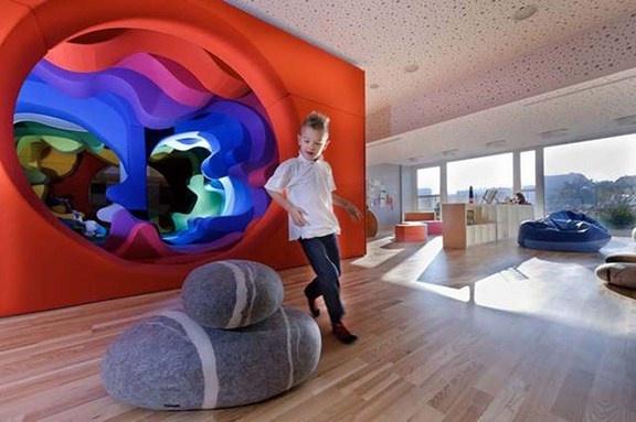 Playground for children design by Studio212. Hotel Platinium/Poland
