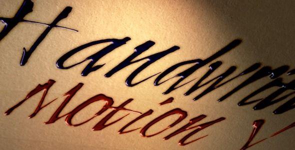 Handwritten Art Titles