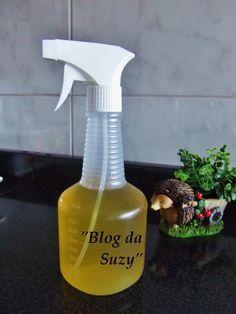 Que tal fazer um desengordurante caseiro, que vai deixar sua casa tinindo,   e com aroma de natureza?   Esse desengordurante não vai agr...