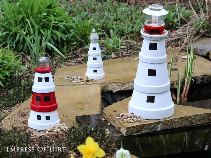 Make Your Favorite Lighthouse This is an easy, afternoon project to do with kids. Gather your supplies and create a clay pot lighthouse for your patio or garden. And, if you want to add a magical touch,...