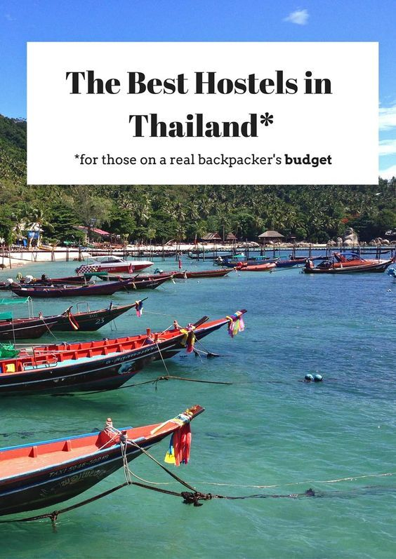Thailand Travel Tips | Everywhere We've Stayed in Southeast Asia (A Hostel Guide for Backpackers on a Budget) | @tbproject
