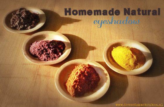 Homemade Natural Eyeshadow 10 kleurige poeders voor zelfgemaakte & natuurlijke oogschaduw