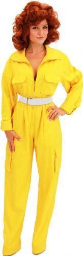 Teenage Mutant Ninja Turtles April O' Neil Yellow Ladies Costume Jumpsuit Halloween?