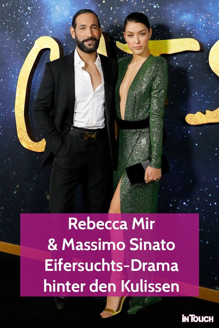 Rebecca Mir Massimo Sinato Eifersuchts Drama Hinter Den Kulissen Hinter Den Kulissen Vip News Promi News