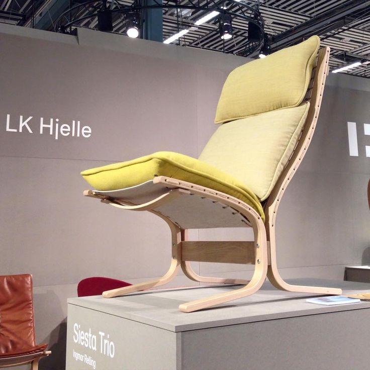 Siesta Trio lounge in yellow (3 fabrics) - 2015