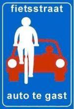Yoeri den Houdijke fietsen  hebben voorrang op de auto's. dit zorgt voor een veilige wijk