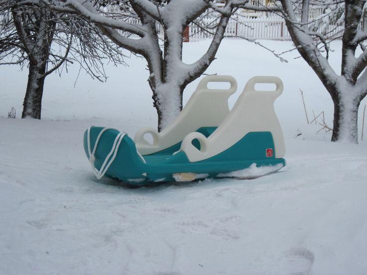 Step 2 Snow Runner Tobbagan Snow Sled For Toddlers