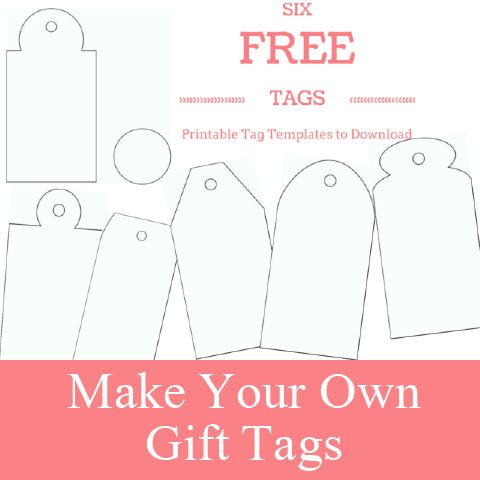 Free Printable Gift Tags Pinterest And Gifts