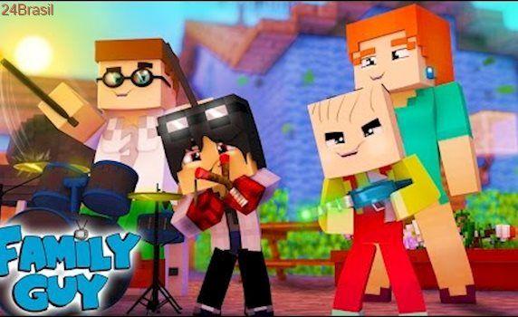 Minecraft: Who's Your Family? - UMA FAMÍLIA DA PESADA ( Family Guy )