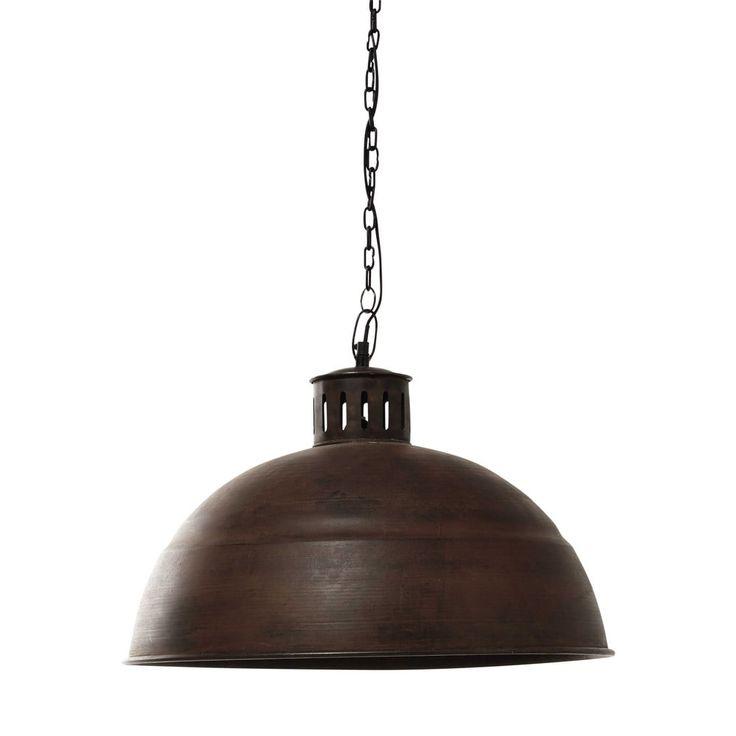 Trendy industrial style lighting pendant to toughen up - Lampe galet maison du monde ...