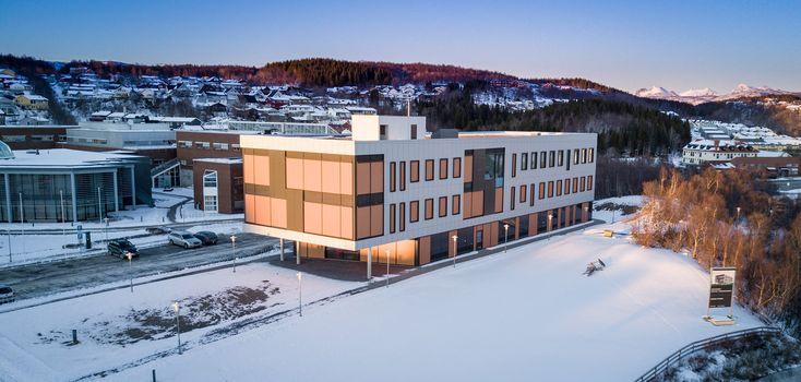 Administrasjonsbygget Nord Universitet - GNIST Arkitekter