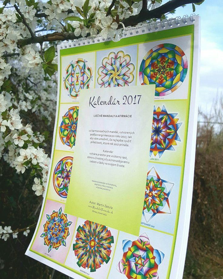 Mandala calender 2017. All 12 mandalas for year 2017 for your success. Calender is made also with clear pattern to paint.  Mandalovy kalendar pre rok 2017. Kolekcia 12 mandal pre kazdy mesiac roku 2017 plus cista predloha na vymalovanie daneho mesiaca.  Par poslednych kusov na predaj.  #mandala # instamandala #mandalaslovensko # mandalaslovakia #art #sacredgeometry #healyourself