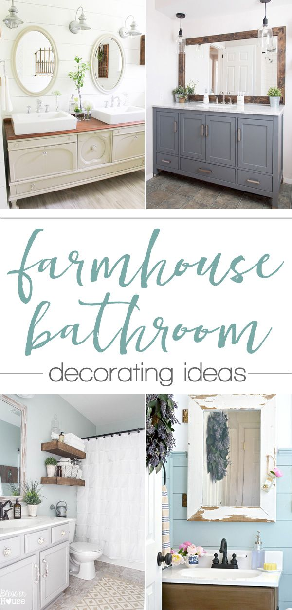 Beautiful Farmhouse Style Bathroom Ideas   Love That Last One, Itu0027s  Gorgeous!
