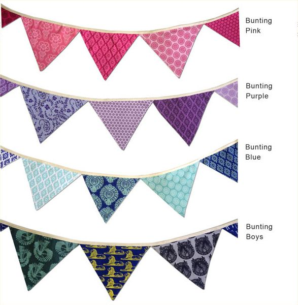 Assorted Sillybilly bunting