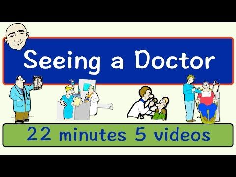 English Vocabulary for visiting the DOCTOR - YouTube