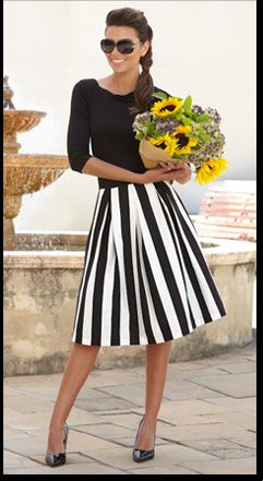 25  best ideas about Black and white tea dresses on Pinterest ...