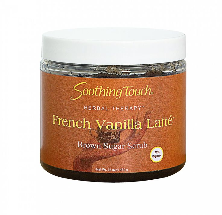Soothing Touch Brown Sugar Scrub - French Vanilla Latte - 16 Oz More