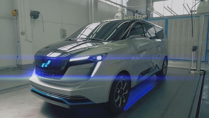 W Motors-Designed Iconiq Seven Concept Debuting In Monterey